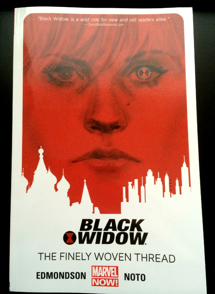 Black Widow Vol 1 A Finely Woven Thread Cover