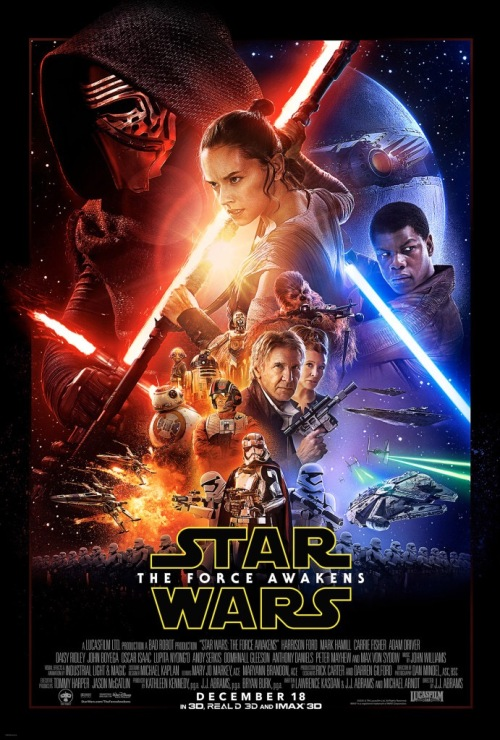 Star Wars: The Force Awakens Official Poster